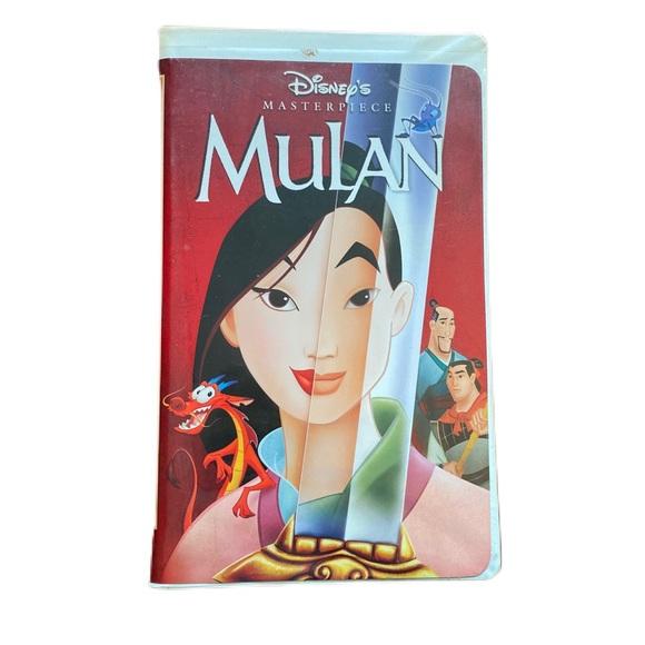 Disney Mulan original VHS